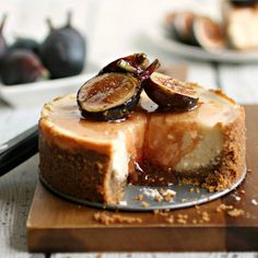 THIS IS GOOD FORGOT ONE FOR CHEESE!  THE LABNEH CHEESECAKE!  #Labneh #Cheesecake with Honeyed #Figs