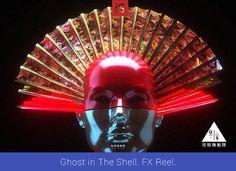 Предлагаю посмотреть закулисную работу над фильмом Ghost in The Shell, которую представили в виде Reel'а создатели FX (спецэффектров) для картины. Довольно оригинальное видео и очень насыщенное.    Для получения дополнительной информации можете посмотреть сайт ashthorp.