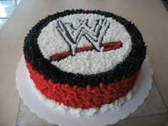 WWE Wrestlemania - My WWE Maniac Birthday Cake!