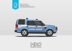 KombiT1: Land Rover Discovery 3 - Polizia di Stato