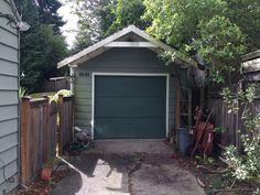 A Detached Garage Becomes A Winning Ldquo Granny Pad Rdquo Modern Garage Loft, Barn Garage, Garage Doors, Garage Door Design, Prefab Homes, Tiny Homes, Garage Apartments, Cabins And Cottages, Exterior House Colors