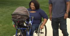 16-Year-Old Invents Stroller-Wheelchair So Disabled Mom Can Wheel Her Baby Outside