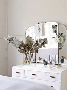 a little vintage dressing table