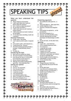 Speaking tips levels english writing skills conversational english english vocabulary word Teaching English Grammar, English Vocabulary Words, English Language Learning, Academic Vocabulary, Teaching Spanish, German Language, Spanish Language, French Language, Vocabulary Activities