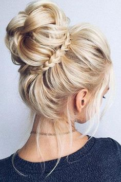 33 Gorgeous Updo Braided Hairstyles for Any Occasion; Braid styles for long or medium length hair; Easy hairstyles for women. Updos For Medium Length Hair, Prom Hairstyles For Long Hair, Work Hairstyles, Trending Hairstyles, Medium Hair Styles, Braided Hairstyles, Curly Hair Styles, Updo Hairstyle, Hairstyle Ideas