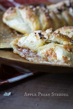 Apple Pecan Strudel - The Lazy Mom's Cooking Blog