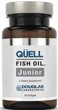 Omega-3s may protect children against allergies    Daily supplements of omega-3-rich fish oil may reduce the allergic response to some allergens, says a new study that adds to the immune modulating properties of the fatty acids. QÜELL Fish Oil™ Junior is a small, pure, and potent softgel that is high in omega-3 DHA for children's general health. #kidshealth #fishoil