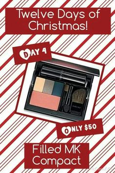 On the 4th Day of Christmas, my Mary Kay Consultant gave to me. www.marykay.com/orhile