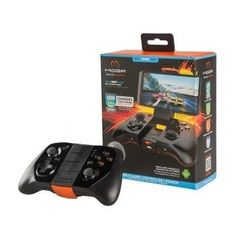 With precision controls, including dual clickable analog sticks and a D-pad, this Power A MOGA Pro Power CPFA123252 controller enables console-style gaming on your compatible Android device. Bluetooth technology offers an easy wireless connection.   #video #games #MOGAProPower #MOGA #Android  #CPFA123252