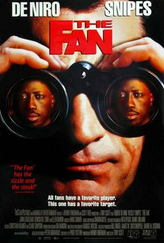 The Fan - Robert de Niro and Jason Sniper 90s Movies, Good Movies, Love Movie, Movie Tv, Style Movie, Wesley Snipes Movies, Thriller, Baseball Movies, Fan Poster