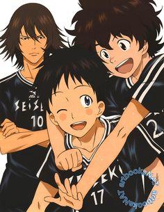 playing is so much fun when their are a lot of friends Days Anime, Days Manga, Manga Anime, Anime Art, Hot Anime Boy, Anime Boys, Captain Tsubasa, Usui, Math Books
