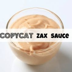 I LOVE me some Zaxby's Chicken! What goes great with Zaxby's chicken? Check out our Homemade CopyCat Zax Sauce Recipe! Delicious and Easy! Copycat Recipes, Sauce Recipes, Cooking Recipes, Dip Recipes, Keto Recipes, Zaxbys Sauce, Ginger Salad Dressings, Good Food, Yummy Food