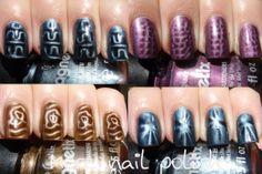 Eye Catchy Magnetic Nail Polish Designs You Will Love To Try Magnetic Nail Polish, Diy Nail Polish, Nail Polish Designs, Gel Nail Art, Diy Nails, Nail Art Designs, Manicure, Acrylic Nails, Smart Nails