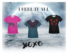 I Feel It All by farrellart on Polyvore The coolest graphic tees for some hip street wear