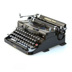 Remington Model 1 Typewriter from The Antikey Chop on Etsy