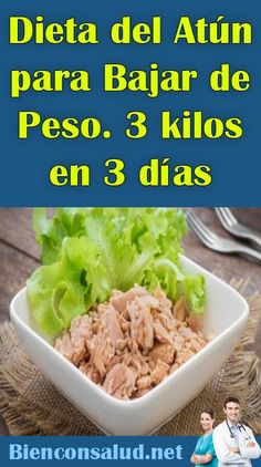 me ~ Pin on Diet and Nutrition ~ Dec 2019 - Tuna Diet for Weight Loss. 3 kilos in 3 days - Good with Health - Best Healthy Diet, Healthy Menu, Healthy Diet Recipes, Healthy Foods To Eat, Healthy Drinks, Healthy Life, Diet And Nutrition, Health Diet, Dieta 10 Kg
