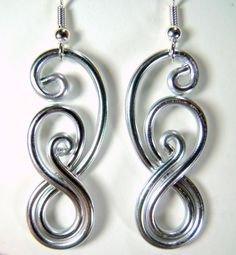 Eternity+Hypo+Allergenic+Earrings+by+melissawoods+on+Etsy,+$15.00