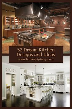 Check out these 52 dream kitchens (photos) Home Design, Luxury Kitchen Design, Best Kitchen Designs, Luxury Kitchens, Dream Kitchens, Kitchen Ideas, Kitchen Triangle, Luxury Rooms, Home Decor Inspiration