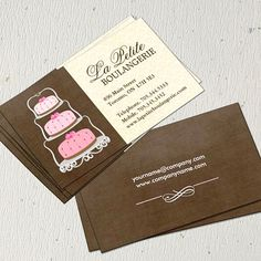442 best bakery business cards images on pinterest bakery business cake bakery business cards cheaphphosting Gallery