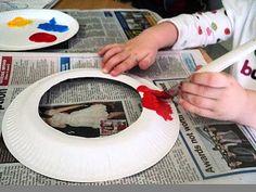 Pintando os pratos