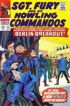 1966 Alley Award - War Title - Sgt. Fury and his Howling Commandos  (Marvel Comics)