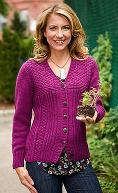 I can see myself making this - and wearing it!  Drift Cardigan Sweater Pattern - free on Ravelry