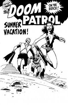 retazosdered:    Mike Mignola - Doom Patrol
