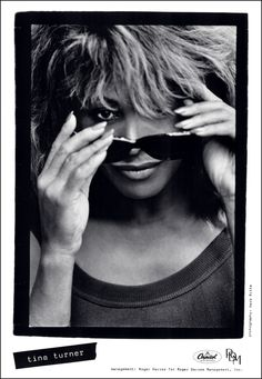 Tina Turner phot by Herb Ritts for the Foreign Affair album.