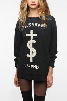 UNIF Jesus Saves Sweatshirt