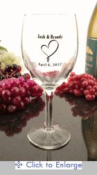 Citation Wine Glass 8 oz. - SIMPLE HEART