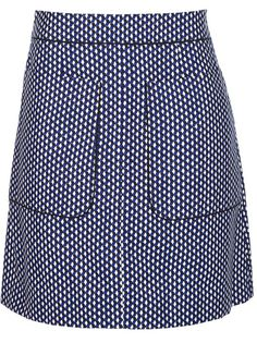 It may be an a-line patch pocket skirt, but I can't afford that! Marni Edition - geometric print a-line skirt 1