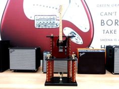 An other Trophy that we built custom for Fender with a real working Fender Guitar.