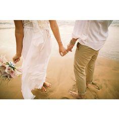 Pinky Promise // Maui Beach Wedding