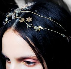 Backstage at Valentino Fall 2011 Couture.