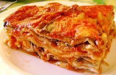 Lasagne alla parmigiana.
