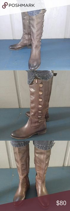 NWOB Arturo Chiang riding boots 6M New EXCELLENT condition leather riding boots Shoes Heeled Boots