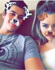 Snapchat couple