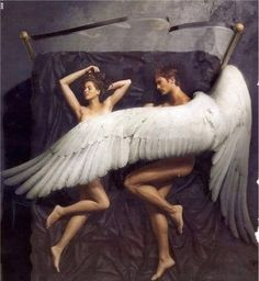 Eros and Psyche Dark Angels, Angels And Demons, Eros And Psyche, Angel Artwork, Angel Warrior, Ange Demon, Angel And Devil, Renaissance Art, Belle Photo