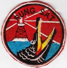 Special Forces/Seal, Rung Sat Zone, CCS MACV SOG Patch