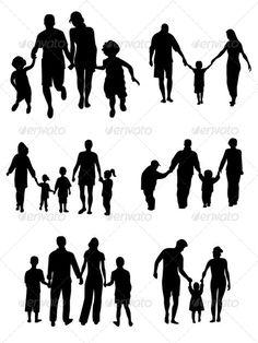 Family Silhouettes -