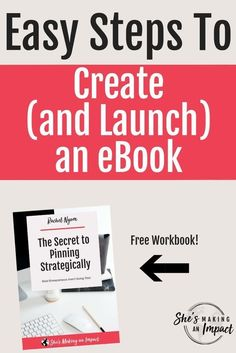 Looking to create an ebook for your blog, business, or startup? Here are my easy tips to creating an ebook, and steps to launch it.