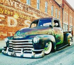 Tuckin' hard #STANDOUT #BEDIFFERENT #BEAMANIAC #ratrodmaniacs #ratrod #ratrods #ratty #rusted #patina #dropped #slammed #tuckin #stance #customcar #customtruck #truckin #builtnotbought #hammered #bagged #chopped #madeinusa #chevy #truck