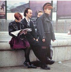"""LONDON STREET FASHION ""1985 New Romantics, London Street, Street Fashion, Street Style, Couple Photos, Couples, Urban Fashion, Couple Shots, Urban Style"