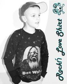 "Freebook - ""Rock`n Love"" - Shirt - Freestyle Rocker Sewing For Kids, Baby Sewing, Basic Shirts, Rocker, Love Shirt, Pdf Patterns, Baby Sweaters, Christmas Sweaters, Graphic Sweatshirt"