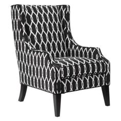 Protege Wing Chair from Z Gallerie, I like the idea of a pair of these with a white or grey sofa too ;)