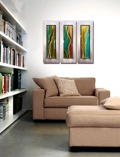 #Contemporary Home Decor - Metal #Abstract Wall Art