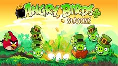 free wallpaper and screensavers for angry birds seasons, 306 kB - Drake Murphy