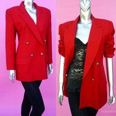 Abby - 1980s-clothing-red-blazer-etsy