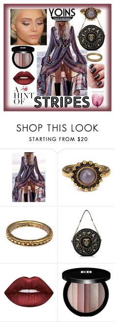 """""""Yoins"""" by explorer-14673103603 on Polyvore featuring Lime Crime and Edward Bess"""