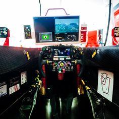 Cockpit Vettel
